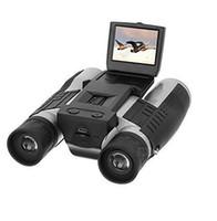 Wholesale 2 quot LCD Display Digital Camera Binoculars x32 MP Video Photo Recorder Digital Camera Telescope For Watching Bird Football Game Concert
