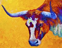 attitude art - Giclee Animal bison attitude oil painting arts and canvas wall decoration art Oil Painting on Canvas X90cm MRR200