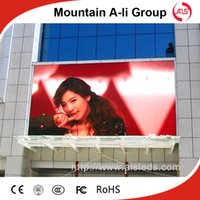 advertise energy - Shenzhen Mountain A Li Group outdoor full color P16 LED display advertising screen HD led display low energy consumption