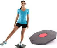 balance trainer board - Plastic Balance Board Multifunction Steady Trainer Fitness Training Equipment