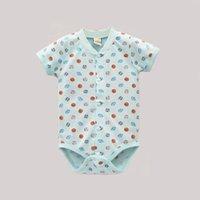 baby toddler sleepwear underwear - 2016 baby girl summer bodysuit children fashion pure cotton jumpsuit toddler infant underwear sleepwear newborn kidswear