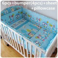baby boy nursery bedding set - Promotion Baby Nursery Bedding Crib Bedding Set for Boy Girl bumpers sheet pillow cover