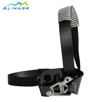 Wholesale AL NASR Camping Rock Climbing Safety Equipment Left Foot Ascender With Pedal Belt Grasp Rope Gear Anti Fall Off Survival