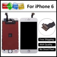 Wholesale AAA For iPhone LCD Full Assembly with Screen Replacement Lens Pantalla Black White Free DHL Shipping