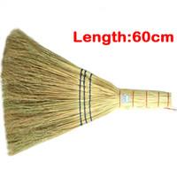 al por mayor aspirar suelos más limpios-En-Negocio 60CM CLASSIC BROOM SWEEPER Escobas de alta calidad para SWEEPING HOUSEWORK Aspiradoras Limpiador para pisos domésticos