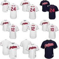 Wholesale Cleveland Indians World Series Men s Blank Yan Gomes Francisco Lindor Jason Kipnis Andrew Miller Corey Kluber Jersey