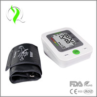 Wholesale Intelligent Technology LCD Fully Automatic Digital Upper Arm Blood Pressure and Pulse Monitor Sphygmomanometer Home