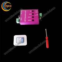 Wholesale led controller New controller SD card T S for WS2811 LPD6803 P9813 TM1903 SM19726 ect led pixel on DC5 V