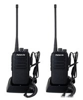 Wholesale 2pcs Retevis RT1 Handheld Walkie Talkies W UHF MHz CH mAh Two Antenna Two Way Scan VOX Radio A9106A