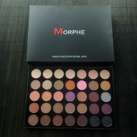 Wholesale DHL Morphe Warm Matte EyeShadow Palette Kit Colors Brand Eye Shadow Makeup Cosmetics for MORPHE BRUSHES W T