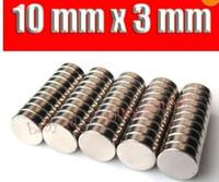 Wholesale 50pcs Bulk mini Small Round NdFeB Neodymium Disc Magnets Dia mm x mm N35 Super Strong Rare Earth Magnet high quality