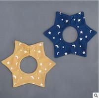 bandana bib packs - 360 Degree Rotatable Baby Bibs With Two Snaps Pack Flower Shape Multi Design Baby Bandana Bibs Cotton Gift Set for Boys and Girls