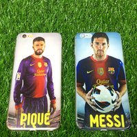 barcelona club football - Football stars La Liga of Futbol Club Barcelona TPU Phone Cases Cover for IPhone7 s Plus For Samsung galaxy s7 S6 S7 Edge cases mix