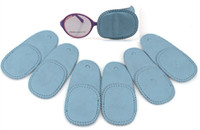 amblyopia treatment amblyopia treatment - 6pcs pair in a opp bag blue nonwoven amblyopia treatment eye mask patch for kids weak sight training