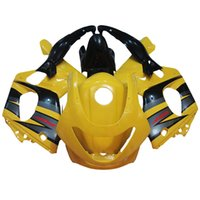 al por mayor thundercat amarillo-Carenados para Yamaha YZF600R Thundercat 97 98 99 00 01 02 03 04 05 06 07 1997 - 2007 Kit de carenado de plástico ABS Carenado Amarillo Negro