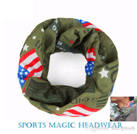 Wholesale Magic Scarf For Outdoor Sports Headwear Magic Headband Neck Warmer Cycling Riding Face Mask Head Out072