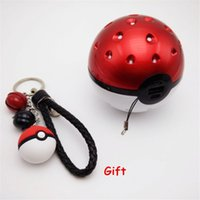 bank projects - Pokeball Power Bank Charger rd Generation Meteor Version Project Pikachu LED Light with Gift Pokeball Keychain