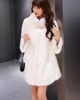 animal pelts - New Inverno Fox Fur Vest Mulheres Gilet Completa Pelt Quente Luxo Real Natural Fox Fur Colete Bolsos