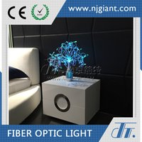Wholesale Led Table Lamp Table Centerpiece Led Night Light GFT Simple Countryside Romantic DIY Gift Newest Holiday Fiber Optic Lamp