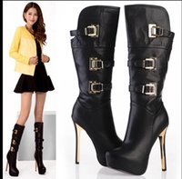 age kittens - 2016 female age season knee boots nightclub in super high heels boots boots sexy waterproof fine with special price