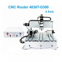 Wholesale 4 Axis Small CNC Router CNC T D300 Mini D CNC Engraving Milling Machine For PCB Drilling Woodworking v v