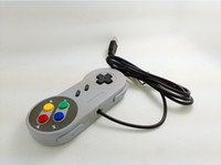 Wholesale Hot Sale Classic Super USB Controller Gamepad For SNES SF For Windows PC For MAC