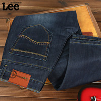 authentic denim jeans - HOT Adult fasion denim jean for men vaqueros counters authentic fashion men jeans manufactural jeans for men long jeans