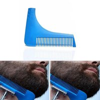 Wholesale New Beard Bro Beard Shaping Tool Shaving Tool Beard Removal comb for Perfect Lines frame and Symmetry PRO SHAVING BEARD