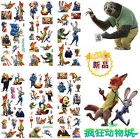 Wholesale Zootopia Octonauts Cartoon Puffy stickers toys Frozen patrol dog the Avengers superman minions childrens wall stickers designs freeship