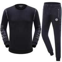 Wholesale 2016 NEW ARRIVE fit slim casual Suits MENS Sport Tracksuit Top Quality cotton Men suits Casual Suits P8510