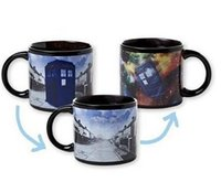 Wholesale Dr disappear booth TARDIS time machine color cup cup ceramic cup color mark mystery