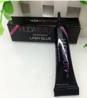 Wholesale HUDA beauty Eye Lash Glue White black Makeup Adhesive Waterproof Fast Drying False Eyelashes Lady makeup tool g