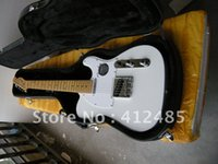 Wholesale Top quality New White color Telecaster Electric Guitar with case