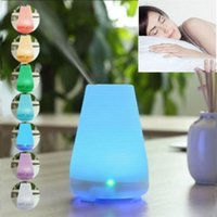 Wholesale Essential Oil Diffuser Cool Mist Aroma Humidifier Aromatherapy Air Led rd NEW