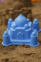Wholesale swimming beach toys to play sand castles model of the Taj Mahal