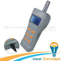 Wholesale CO2 Meter Air Temperature Humidity Carbon Dioxide CO Carbon Monoxide DPT WBT Monitor NDIR Sensor Digital Data Logger Tester