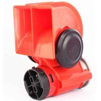 air horn pump - Car Motorcycle Truck V Red Compact Dual Tone Electric Pump Air Loud Horn Vehicle Siren