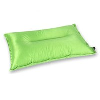 Wholesale 2016 New Arrival Popular Outdoor Sport Travel Hiking Garden Portable Automatic Inflatable Air Cushion Pillow Colors