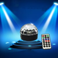 Wholesale High Quality Wireless Bluetooth Speaker LED Magic Ball Stage Lights Home KTV DJ Disco Party Club Music Ball Lights with Remote Control