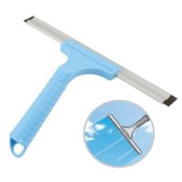 bathroom squeegee - Glass Window Squeegee Bathroom Mirror Car Wiper Household Cleaner Tools
