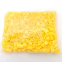 Wholesale Promotions High Quality Tattoo Yellow Ink Cups Size xD18mm bag Hot Sale IA206A