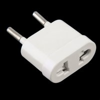 Wholesale hot new Travel Charger Wall AC Power Plug Adapter Converter Europe EU to US USA