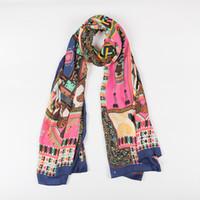 Wholesale 2016 women fashion silk scarf large size ladies shawl color optional