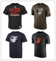 baltimore mix - New Unisex Baltimore Orioles Salute To Service T Shirt Men s Women s Fashion leisure Sport shirt Mixed order