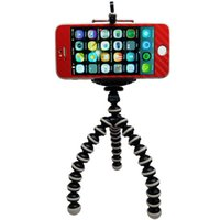 Wholesale 360 Rotating Universal Phone Holder Flexible Octopus Tripod Generic Camera Mini tripod stand Holder for GoPro iPhone S Samsung