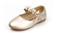 Wholesale 2016 new arrival girl dance shoes girl real leather shoes size