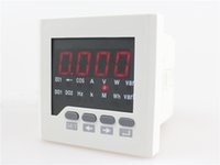 Wholesale 2016 ME D71 size mm single phase multifunction meter price of high quality made in China