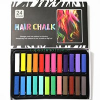 big chalk - Big Promotion Colors Fashion Montgomery Hot Fast Non toxic Temporary Pastel Hair Dye Color Chalk Free DHL