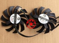 air stocking video - Original New GPU Cooler Fan For MSI R6790 GTX R6850 N460GTX Power Logic PLD08010S12HH V A Graphics Video Card Dual Fan