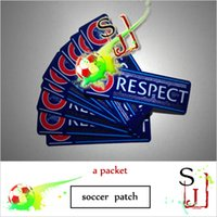 Wholesale championsleague UCL RESPECT patches soccer patch badges